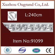 heat proof pu moulding for home and resturant decoration