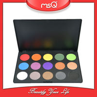 MSQ Wholesale 15 colors high quality mineral eyeshadow