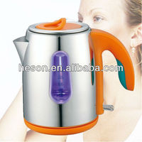 1.2L Colorful handle for household water levle indicator stainless steel electric kettle