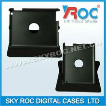 2013 accesorios de cuero del teléfono con rotar 360 conveniente para i pad2 i pad3