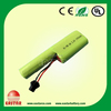 Industrial use AA pack Ni-MH battery 3.6V 1900mAh rechargeable battery