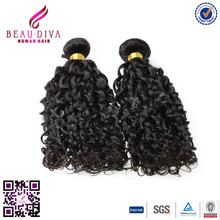 5A Grade Quality Unprocessed Curly Intact Virgin Peruvian Hair shelly curl,human virgin peruvian hair