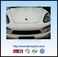Dexin Brand Car Refinish Paint White Paint
