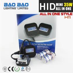 2015 New CE ROHS HID KIT, car hid light, h7 hid xenon bulb holder adapter AC 35w , BAOBAO Lighting