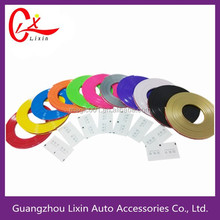 11 colors rubber Wheel Rims Protector For Jeep Wrangler Maiker Motorcycles Adhesive Tapes Car Exterior Accessory