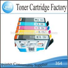 Re- fabricado de la impresora cartucho de tinta para hp364