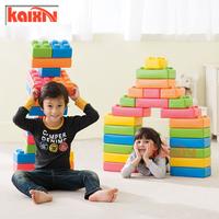 Children Plastic city big building blocks toys