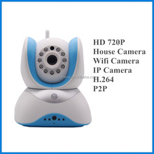 hot new products for 2015 security camera HD hidden Wifi IP Camera 1.0mp support IR distance 10M P2P Camera
