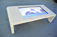 All in one PC table lcd video player touch screen office/family using type