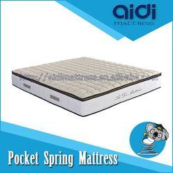 Sleep Well Night Pocket Spring Memory Foam Jade Massage Bed Mattress AI-1312
