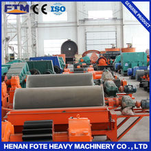 Ore dressing plant electro magnetic separation