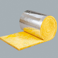 heat resistant glass wool panel/blanket/board for Heat insulation for wall and roof of house