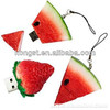 Special design usb flash drives Watermelon food shape 1gb/2gb/4gb cheap usb flash drive