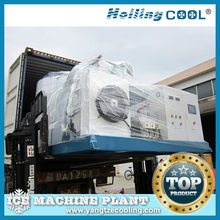 20Ton/day industrial product snow flake ice making machine for seafood