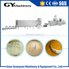 Best sale auto man made rice extruding machine