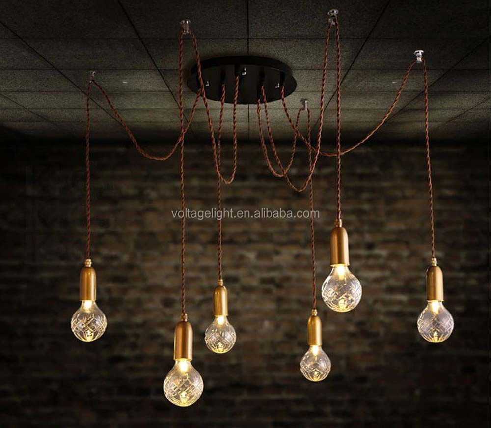 new products decorative vintage industrial led pendant light modern
