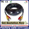 bnc female solder connector dc plug cctv extension cable