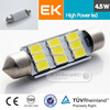 Smart system Best selling car accessories super canbus T10/W5W/194 5630 3535 car led light bulb