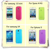 Ultra Thin Slim Clear Transparent Hard Case cover for Apple iPhone 4 4S 5 5S 5C