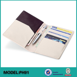Custom personalized wholesale leather passport cover /hloders