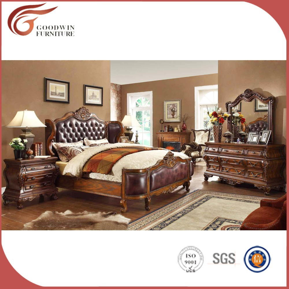 Wholesale Chinese Antique Furniture Royal Furniture Bedroom Sets
