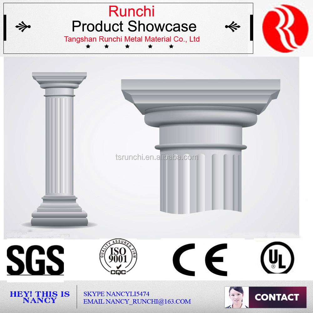 Decorative polyurethane roman column buy decorative for Polyurethane columns