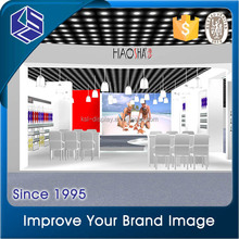 Attractive garment shop or stores metal display fitting furniture/bikini store display showcase