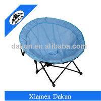 Small comfortable leisure steel folding kids moon chair