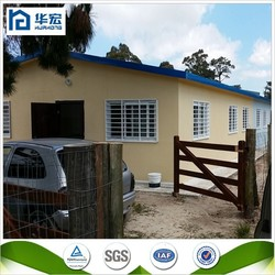 New technology strong steel frame prefabricated houses low cost