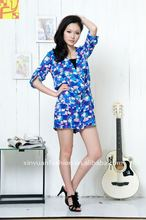 2013 Newest printing casual jump suit