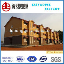steel frame prefabricated hotel