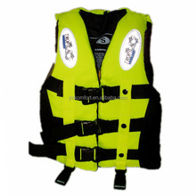 Boating EPE foam inflatable safety thin life jacket for adult