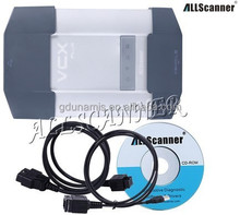 Original 2015 newest software VCX-PLUS car and truck diagnostic tool in grey color with hardware disk