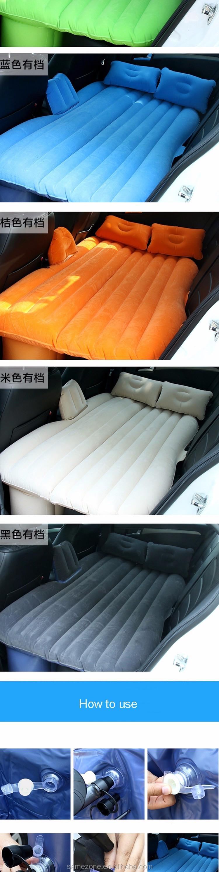 voiture portable camping lit pliant lit ultra l ger gonflable matelas d 39 air matelas tapis de. Black Bedroom Furniture Sets. Home Design Ideas