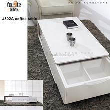 malaysia furniture l shaped coffee table J802A