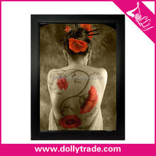 Image Sex Wall Art Sexy Lady Naked Body Canvas Painting Woman Nude Back Oil Painting