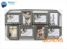 China supplier plastic photo frame, multi opening photo frame collage