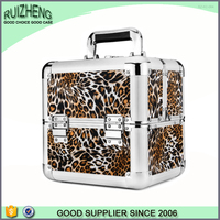 Beauty hard aluminum Make Up Vanity Cosmetic Case Box