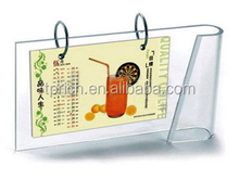 2015 NEW style schedule planning customized Acrylic digital desk calendar with Experienced Factory Made
