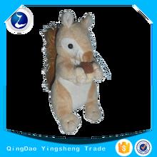 Hot sale soft custom plush toy squirrel