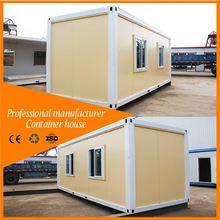 portable prebuilt solar power prefab camp 20ft living container house