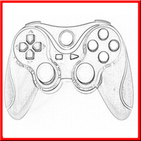 For ps3 customized shell controller
