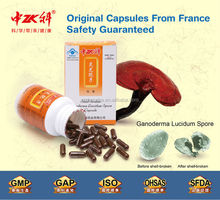 Health Care supplement for Lung and Kidney Growing Reishi Mushrooms Spore Capsule