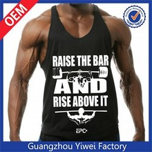 Fitness wholesale custom bodybuilding gym tank top