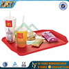 plastic fast food tray for hotel and restaurant