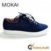 J001 Dark blue high quality Italian men shoes fashion leather sneaker men