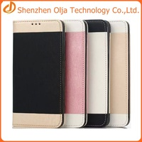 Card slot wallet pu leather case for samsung galaxy s6 edge plus,china supplier case for samsung s6 edge plus