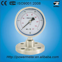 100mm 100% inspected sanitary low pressure gauges
