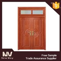 double leaf entry door/double leaf flush door