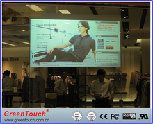"""46"""" usb interactive dual touch screen Foil film, Holographic projection Foil for Kiosk/advertising player"""